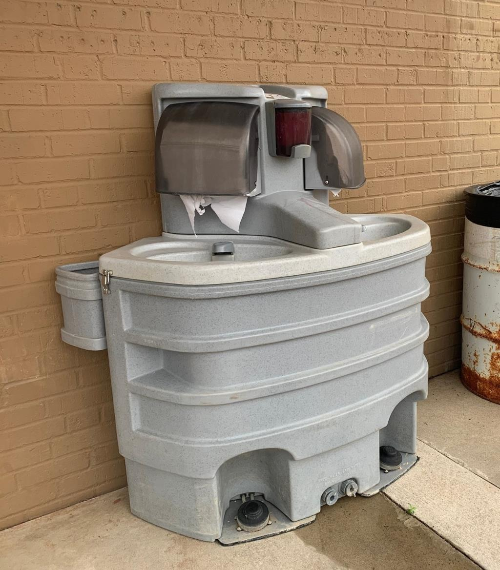 Portable handwashing station