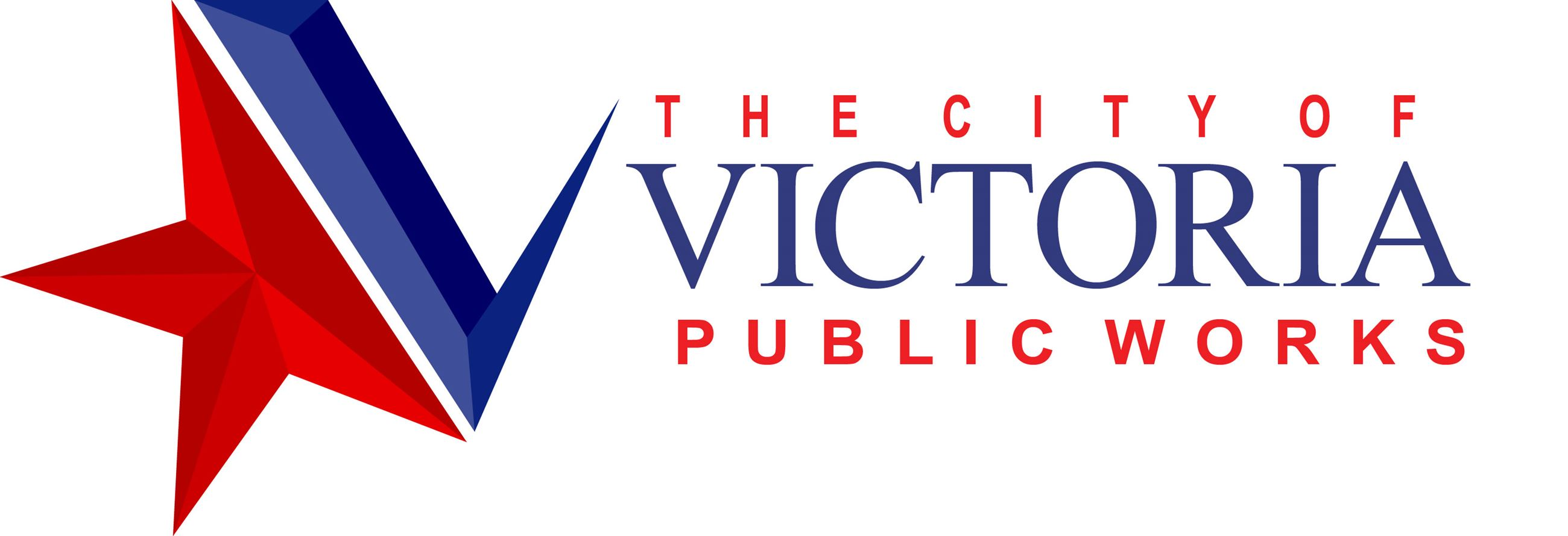 City of Victoria Public Works logo