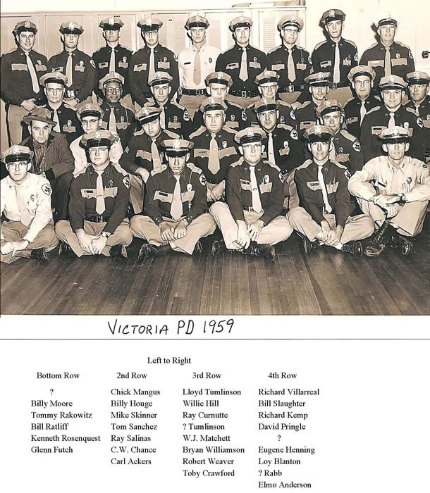 Victoria Police Department 1959