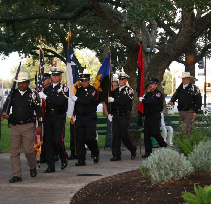 Honor Guard Marching