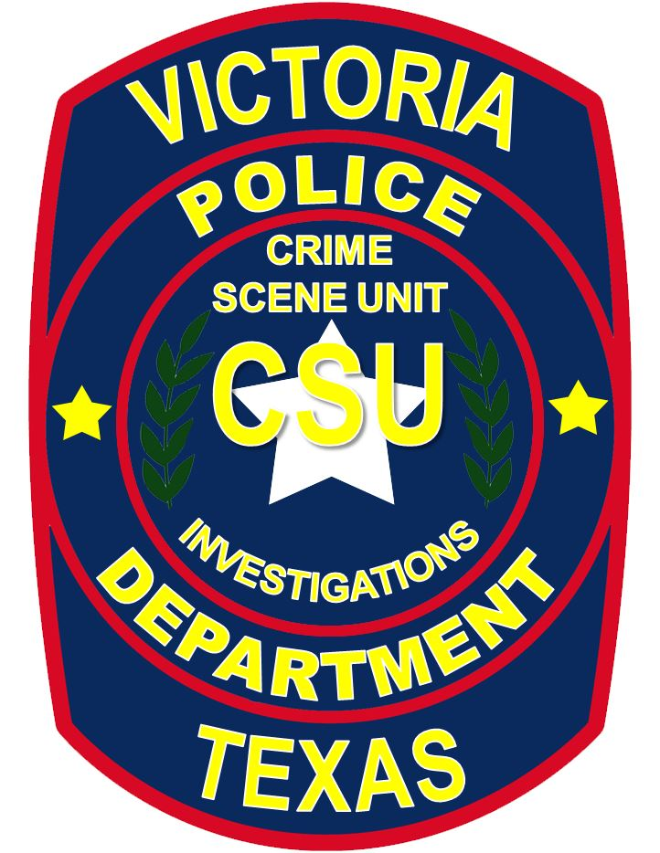 Victoria Police Department Crime Scene Unit Badge