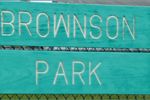 Brownson Park Sign